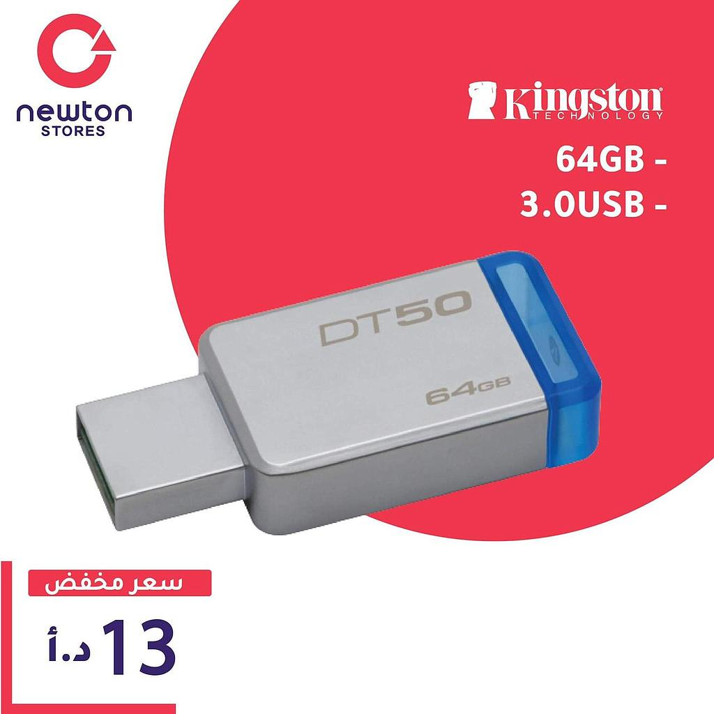 Kingston Fmm Usb3.1 64Gb DT50